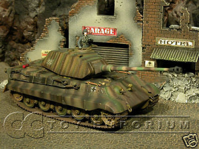 """RETIRED"" Forces Of Valor 1:32 Scale - German King Tiger w/ Porsche Turret"