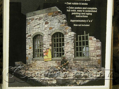 """BRAND NEW"" Dioramas Plus 1:35 Deluxe 1 Story Stone Ruin Kit"