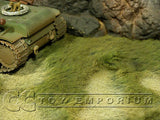 """BRAND NEW"" Build-a-Rama 1:32 Hand Painted WWII Deluxe Island Mat (24"" x 12"")"