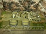"""RETIRED"" Build-a-Rama 1:32 Hand Painted WWII Deluxe Grass Mat w/ River Crossing"