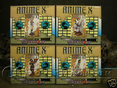 """VERY RARE & LONG SOLD OUT""  Deluxe ""Anime X Creations"" 4 Figure Set  MINT"