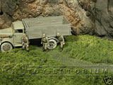"""BRAND NEW"" Build-a-Rama 1:32 Hand Painted WWII Deluxe Grass Mat w/ Stream"