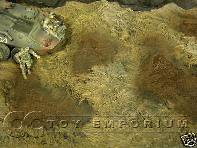 """BRAND NEW"" Build-a-Rama 1:32 Hand Painted WWII Deluxe War Torn Battlefield Mat 2"