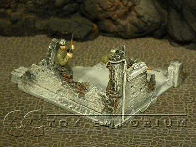 """/""""RETIRED/""""  Build-a-Rama 1:32 Hand Painted 2 Story City Building"""