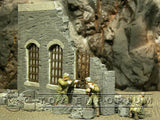 """BRAND NEW"" Dioramas Plus 1:35 WWII Custom Painted 1 Story Ruin"