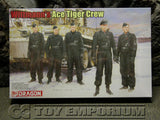 """BRAND NEW"" Dragon Models 1:35 Scale Deluxe WWII ""Michael Wittmann's Tiger 1 Ace Crew"" Model Kit"