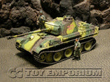 """RETIRED"" Dragon Armor 1:35 - Deluxe WWII German Sd.Kfz.171 Panther G Late Production (61024) Tank 1/Pz.Rgt.26 Grossdeutschland, France 1944"