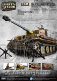 "RETIRED Forces Of Valor ""BRAND NEW"" 1:16 German Tiger 1 505th Schwere Heeres Panzer Abt. Poland, 1944"