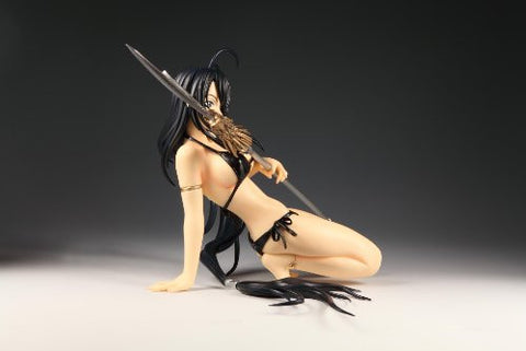 """VERY RARE"" Ikki Tousen 1/6 ""Sexy Kanu Unchou - Photogenic Black Bathing Suit CASTOFF "" MINT"