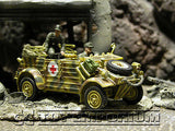"""BRAND NEW"" Forces Of Valor 1:32 Scale WWII German Medical Kubelwagen Type 82 - Holland"