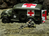 """RETIRED"" Forces Of Valor 1:32 WWII US 4 x 4 Ambulance"