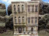 """BRAND NEW""  Build-a-Rama Deluxe WWII ""Photo Real"" Winter Color Facade #1 w/Sidewalk"