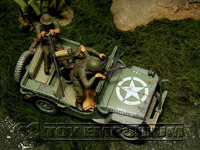 """BRAND NEW"" Custom Built - Hand Painted & Weathered 1:35 Master Box Deluxe Vietnam US Soldier Set (3 Figure Set)"