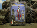 """BRAND NEW"" Nightmare Before Christmas  -  Santa Jack - Movie  Accurate  Figures  Series #2"