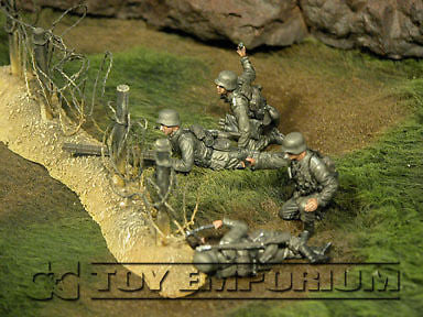 """BRAND NEW"" Custom Built & Hand Painted 1:35 WWII German Gebirgspioniere Set (4 Figure Set)"