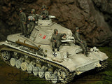 """BRAND NEW"" Custom Built - Hand Pianted & Weathered 1:35 WWII German LAH-Panzer Crew Set (5 Figure Set)"