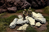 """RETIRED"" Build-a-Rama Deluxe 1:32 Hand Painted Custom Built Loose Stone Pack Set (Aprox 10 Piece Set)"