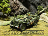 "RETIRED & BRAND NEW"" Forces Of Valor 1:32 Scale WWII D-Day US Willy's  Jeep - Normandy 44'"