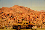 """RETIRED"" Build-a-Rama 1:32 Deluxe WWII Desert Color Back Drop"