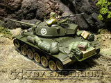 """RETIRED""  Forces Of Valor  - WWII  US Cadillac  M24  Chaffee Tank  France 45"