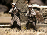 """BRAND NEW"" Custom Built - Hand Painted & Weathered 1:35 WWII German ""Winter"" Infantry Western Europe  Soldier Set (4 Figure Set)"