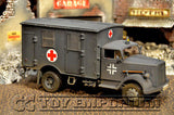 """RETIRED"" Forces Of Valor 1:32 Scale WWII German 4x4 Ambulance"