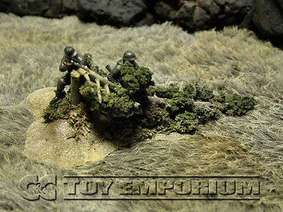 """RETIRED & BRAND NEW"" Build-a-Rama 1:32 Hand Painted WWII ""Deluxe Blasted Tree Terrain"" Set"