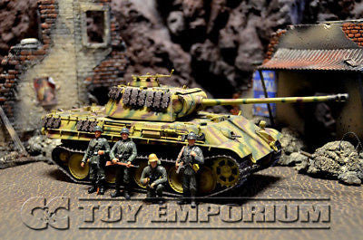 """BRAND NEW"" Dragon Armor - WWII German Panther G Tank w/ 4 Soldiers"