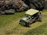 """BRAND NEW"" Build-a-Rama 1:32 Hand Painted ""WWII Deluxe Curved Road Grass Mat"" (24"" x 12"")"