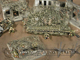 """RETIRED & BRAND NEW"" Build-a-Rama 1:32 Hand Painted WWII ""OD"" Camo Net Set"