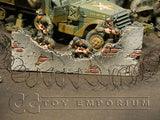 """RETIRED & BRAND NEW"" Build-a-Rama 1:32 Hand Painted WWII Deluxe Barbed Wire Coil"