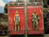"""VERY  RARE""  ""Planet  Terror/Gringhouse""  Complete  TWO Figure Set  MINT"