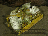 """RETIRED & BRAND NEW"" Build-a-Rama 1:32 Hand Painted WWII ""Winter"" Ambush Foliage"