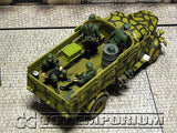 """RETIRED"" Forces Of Valor 1:32 Scale German 3 Ton Cargo Truck w/5 Soldiers Eastern Front"