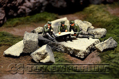 """RETIRED & BRAND NEW"" Build-a-Rama Deluxe 1:32 Hand Painted Custom Built Loose Rubble Pack Set (10 Piece Set)"