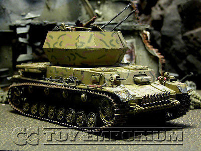 """RETIRED"" Forces Of Valor 1:32 Scale German  Flakpanzer IV Wirbelwind - Normandy 1944"
