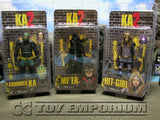 """BRAND NEW & SOLD OUT"" NECA Kick Ass 2 Series 2 Action Figure Set (3) MINT On Card"