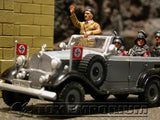 """RETIRED"" King & Country 1:30 Scale ""Berlin 38 Series"" Deluxe German New Staff Car"