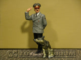 "RETIRED King & Country 1:30 ""Berlin 38' Series"" Deluxe Adolf Hitler & Dog (2)"