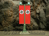 """RETIRED"" King & Country 1:30 ""Berlin 38' Series"" Deluxe Double Banner Street Lamp"