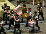 "RETIRED King & Country ""Berlin 38' Series"" Deluxe 28 Piece SS Marching Band Set"