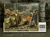 """BRAND NEW"" Master Box Models 1:35 Scale Deluxe ""Zombie Hunter - Road To Freedom"" Model Kit"