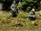 """RETIRED & BRAND NEW"" Build-a-Rama 1:32 Hand Painted WWII ""Woodland"" Ground Cover Set"