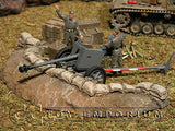 """RETIRED & BRAND NEW"" Build-a-Rama 1:32 Hand Painted WWII Sandbag Emplacement"