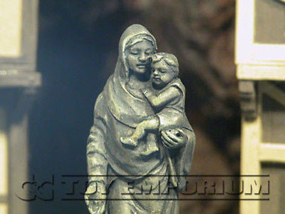 """BRAND NEW"" 1:32 Custom Painted Deluxe Madonna / Child Stone Exclusive Statue"