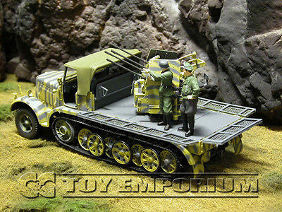 """BRAND NEW"" Forces Of Valor 1:32 Scale WWII German SD. Kfz. 7/1 MIT 2CM Flakvierling 38 Half Track"