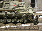 """BRAND NEW"" Custom Built & Painted 1:35 WWII German 11.Frw.Pz.Gren.Div ""Nordland"" Set (4 Figure Set)"
