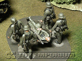 """BRAND NEW"" Custom Built - hand painted & Weathered 1:35 WWII Deluxe German ""Casualty Evacuation"" Soldier Set (5 Figure Set)  (5)"