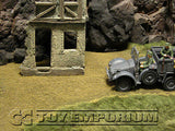 """BRAND NEW"" Build-a-Rama 1:32 Hand Painted WWII ""Deluxe Farmhouse Drive Mat""   24"" x 12"""