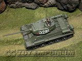 """RETIRED"" Forces Of Valor  1:32 Scale Russian T-34/85 Tank Prague, Czech Republic 1945'"